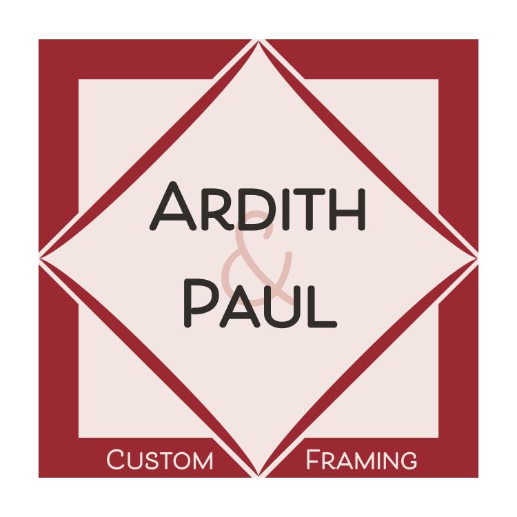 Ardith & Paul Custom Picutre Framing – Houston Custom Picture Framing